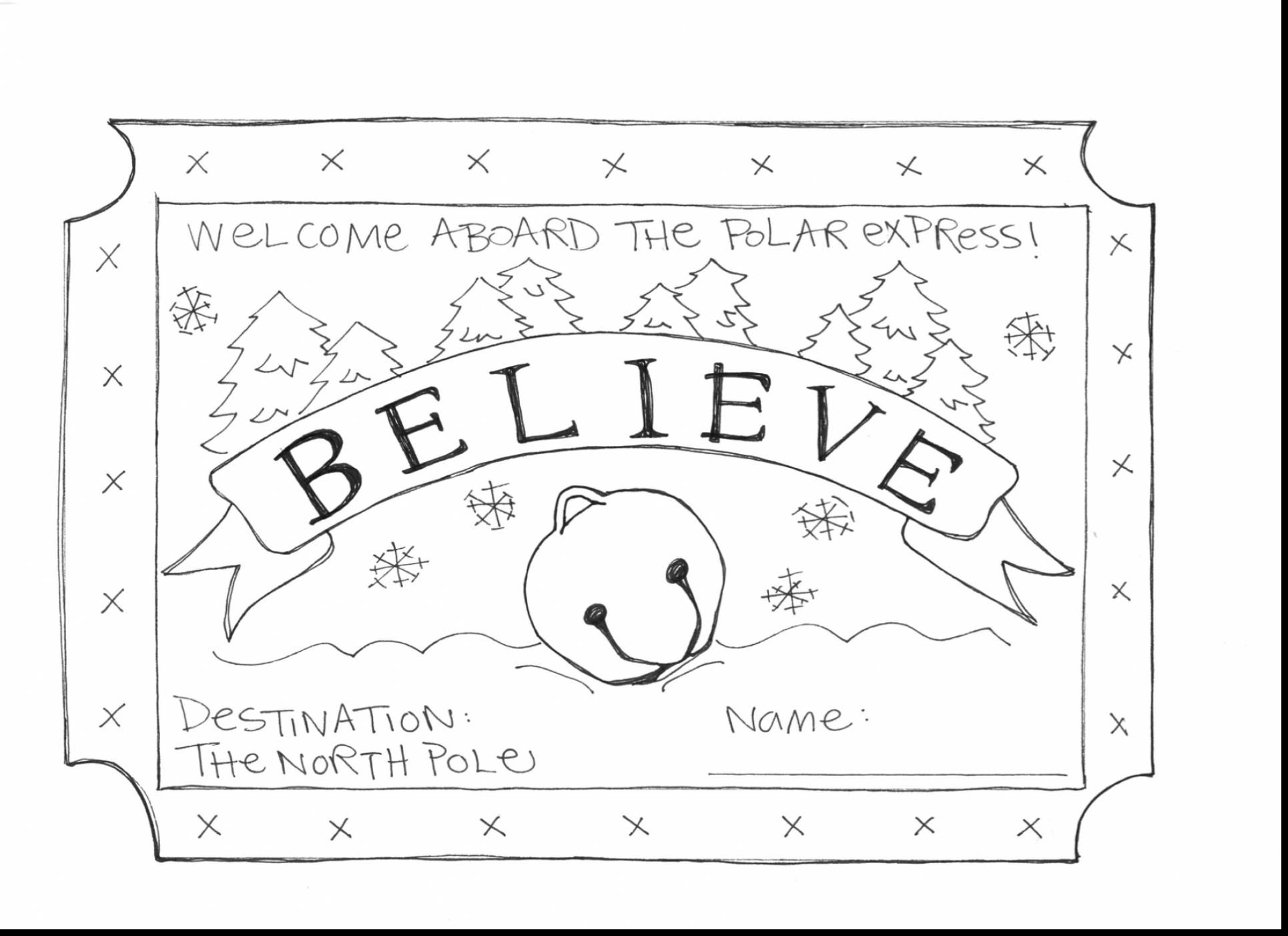 Image Result For Polar Express Coloring Pages