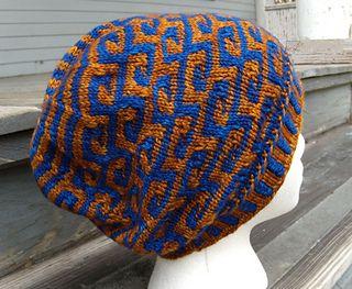 847ee6080a770 Klimt Hat pattern by Nina Machlin Dayton