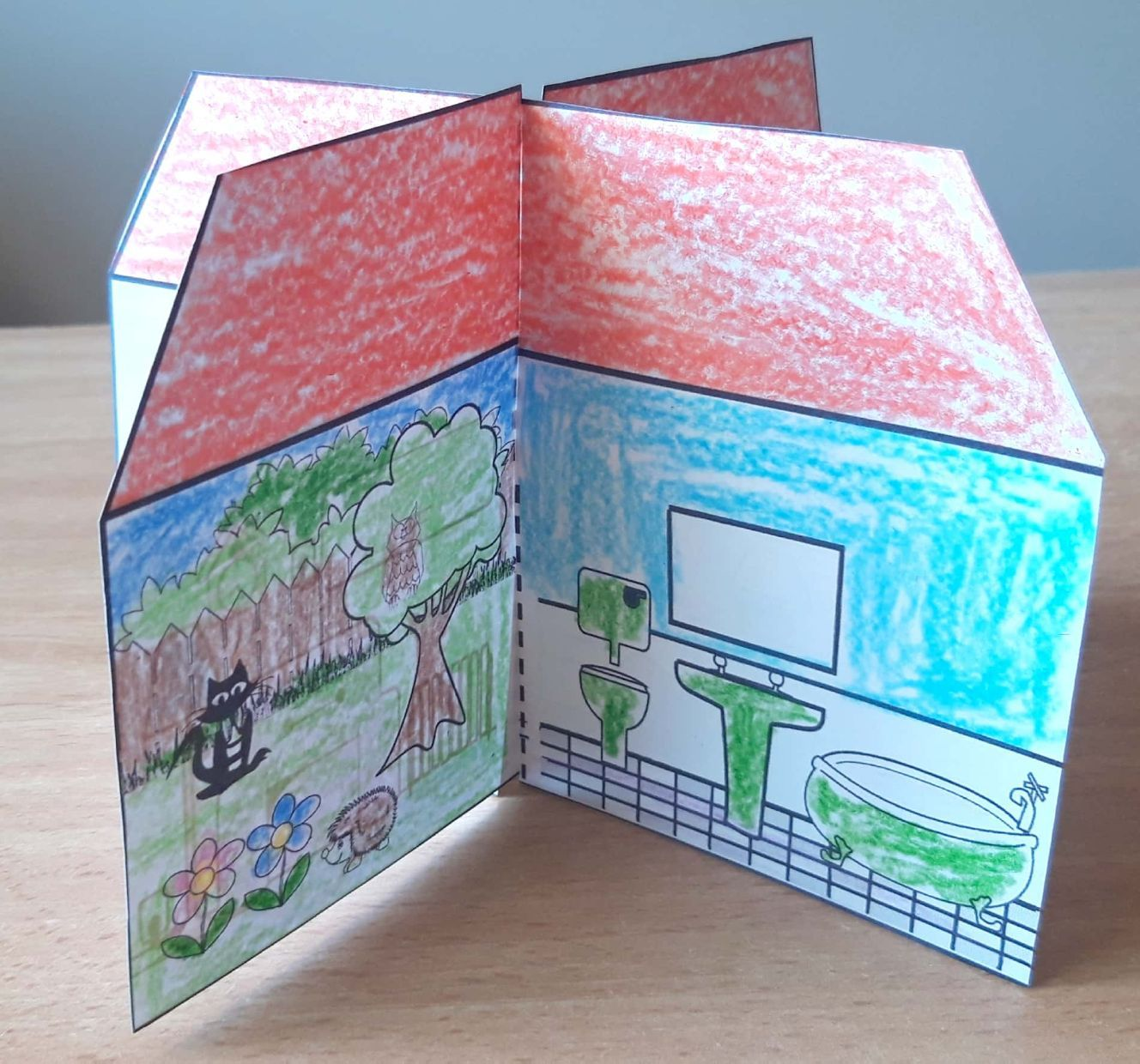 A Simple But Effective House Craft For Even The Littlest