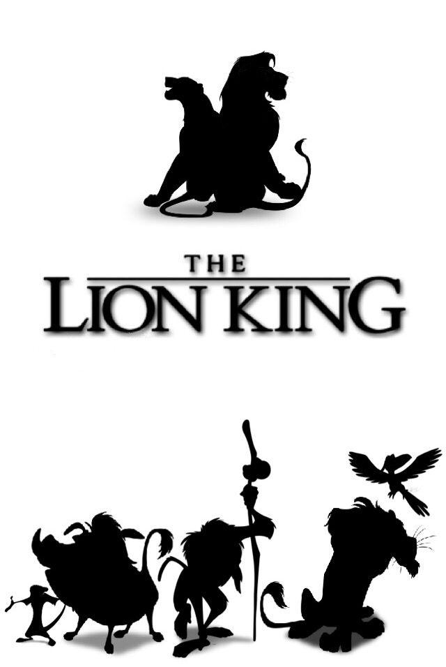 The Lion King Silhouettes Disney Lion King Lion King Hakuna Matata Lion King