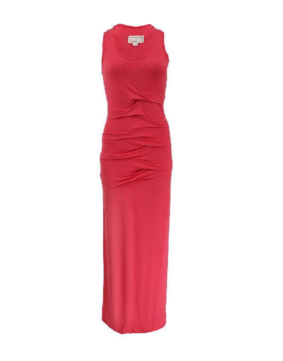 Sleeveless Scoop Neck Maxi Dress   NICOLE MILLER