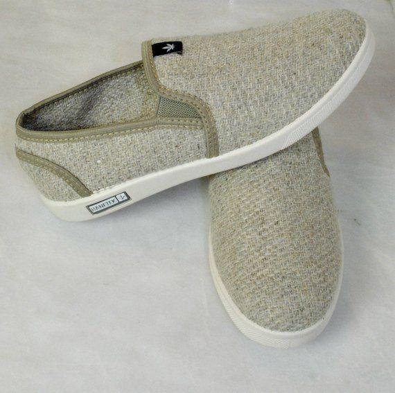HEMP SHOES Vintage sneakers Hemp clothing Vegan shoes Custom vans shoes  ee82d7b6b