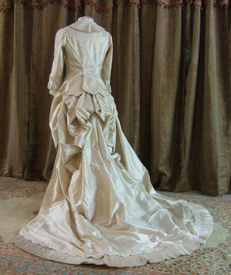Victorian wedding gown Victorian wedding dress, Evening