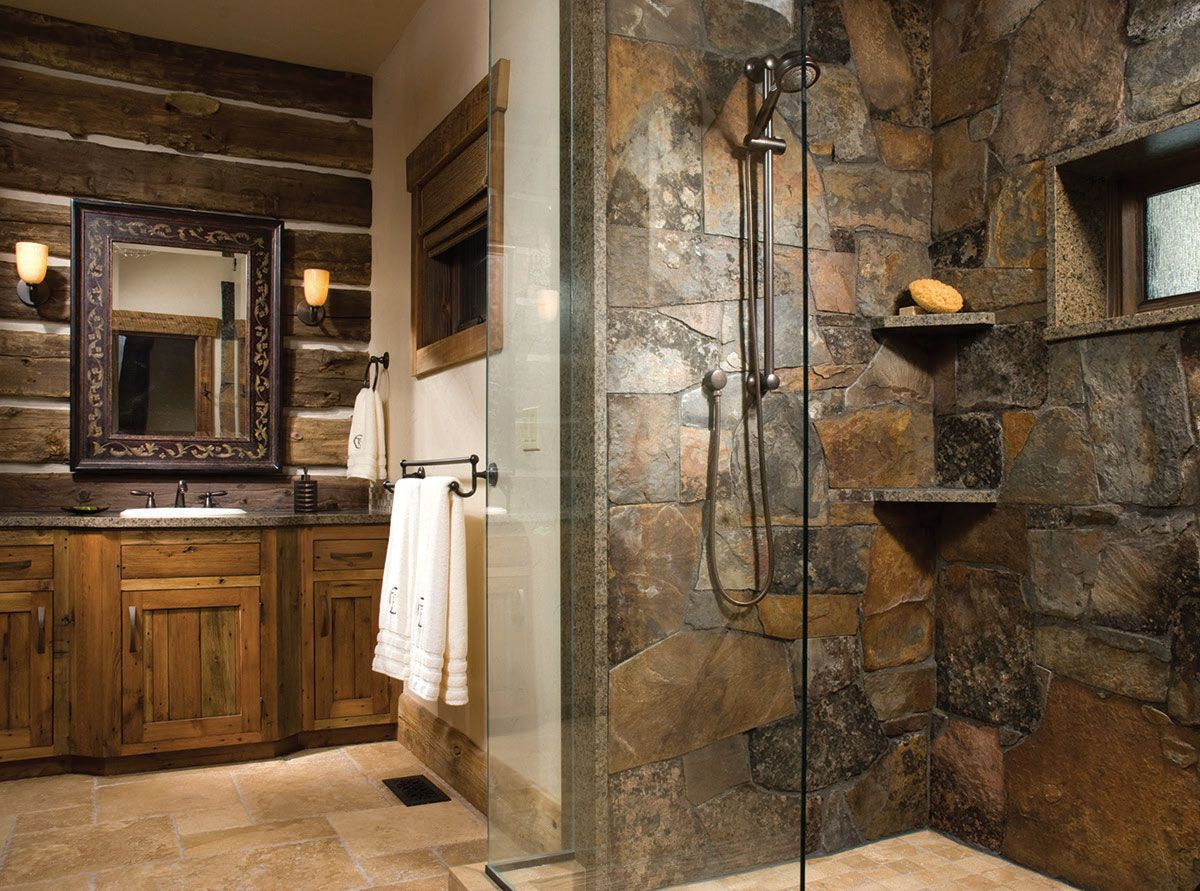 cabins decor cabin more log to and photos bathroom ideas products