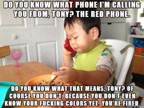 Funny Black Guy On Phone Meme : The red phone tony haha funny pinterest business baby meme
