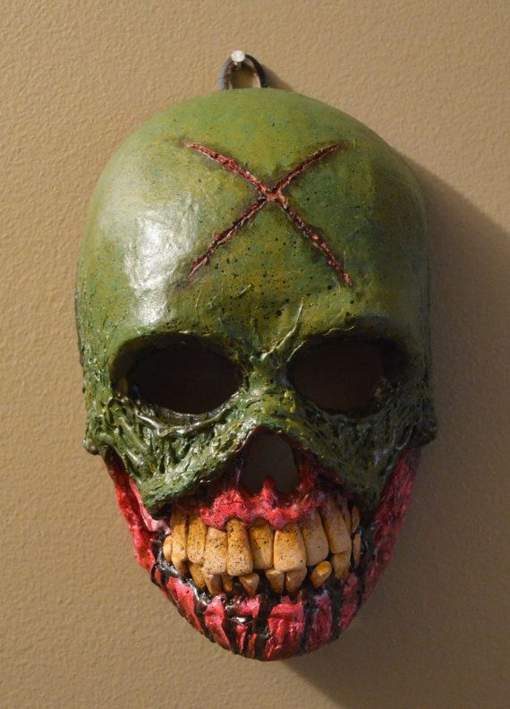 The Creeper Original Paper Mache Skull Mask