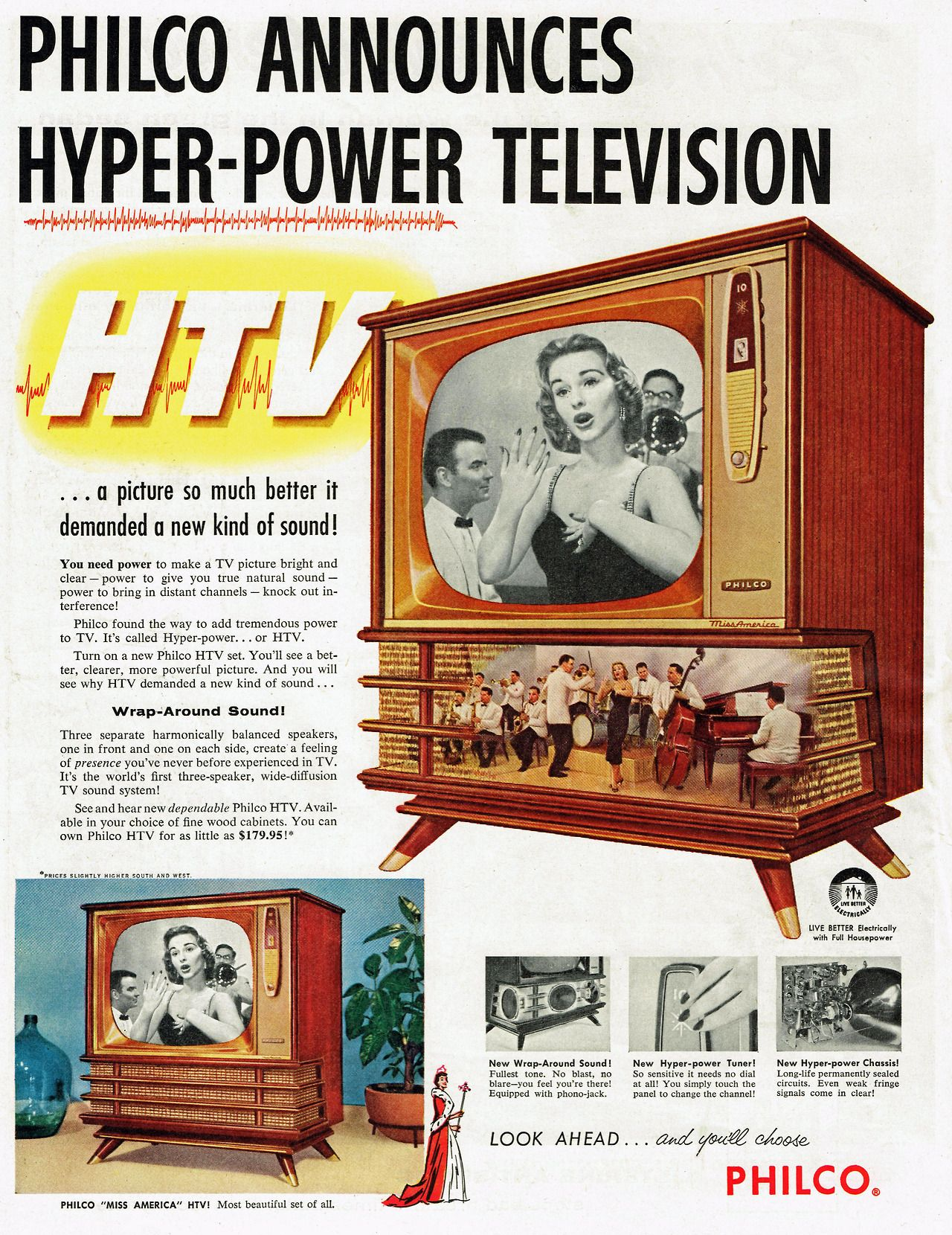 "Philco's 1957 ""Hyper-Power Televison"""