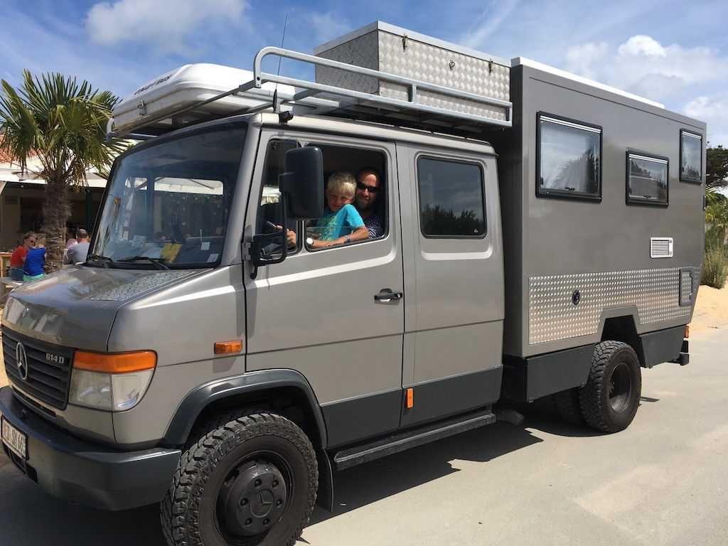 Mercedes-Benz Vario Expedition Kabine Weltreisemobil 9D Check