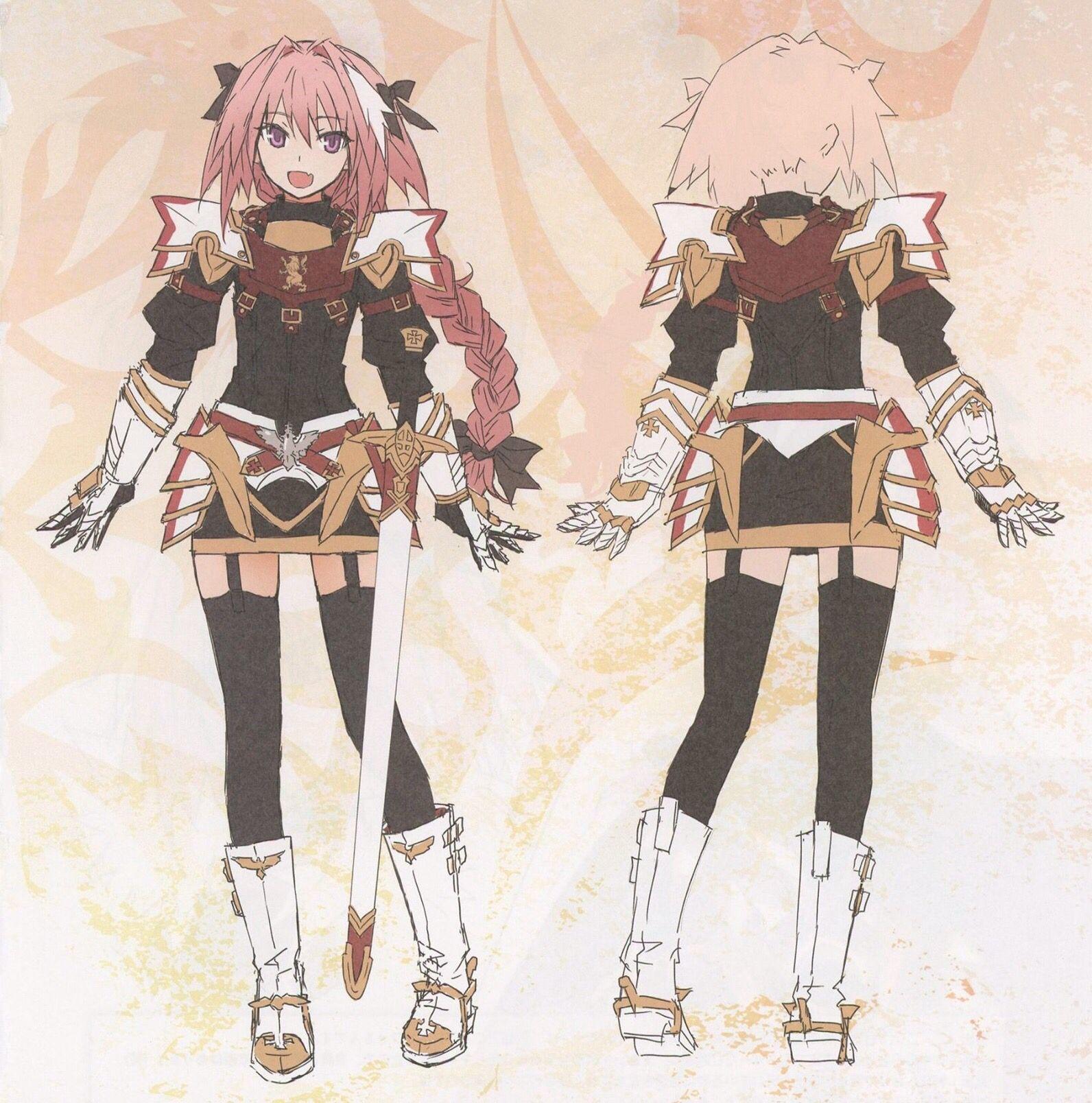 Black rider astolfo | Anime, Zelda characters, Carolingian