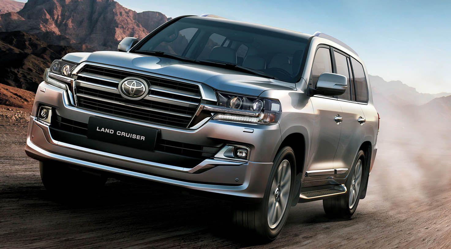 تويوتا لاندكروزر 2019 الجديدة الحضور المهيب والعراقة الاسطورية موقع ويلز Toyota Land Cruiser Land Cruiser Toyota