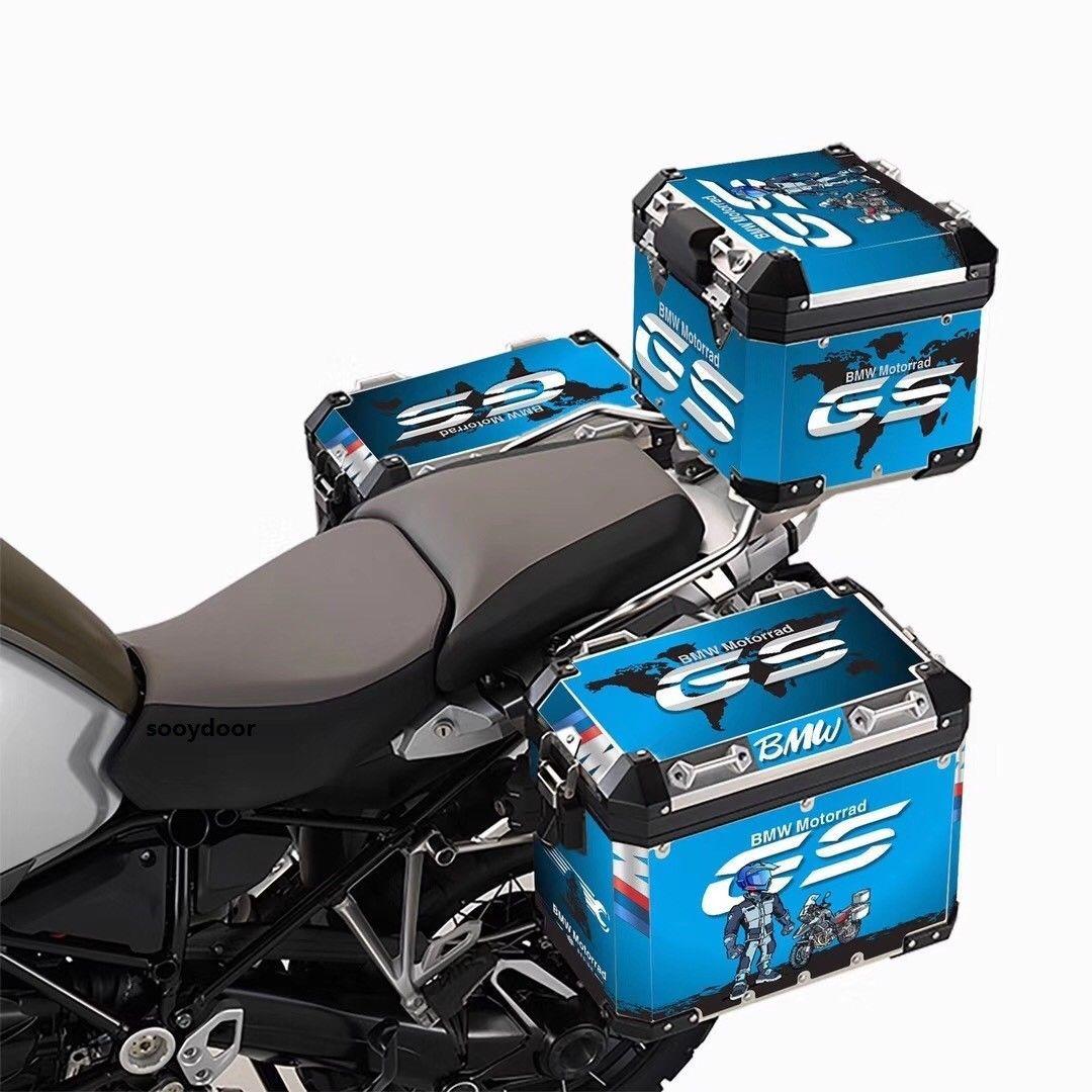 R1200GS ADV 3 x Pannier Adventure Protector Cover Blue