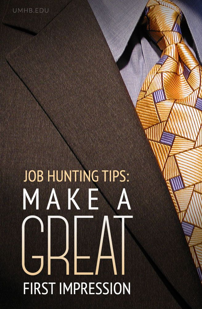 Job Hunting Tips Making a Great First Impression - resume coach