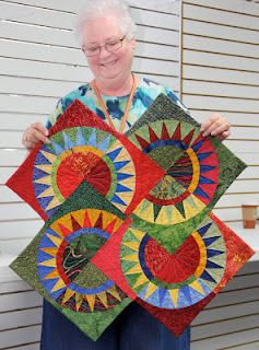 Orlando Modern Quilt Guild Circle Quilts Paper Piecing Quilts Quilt Guild