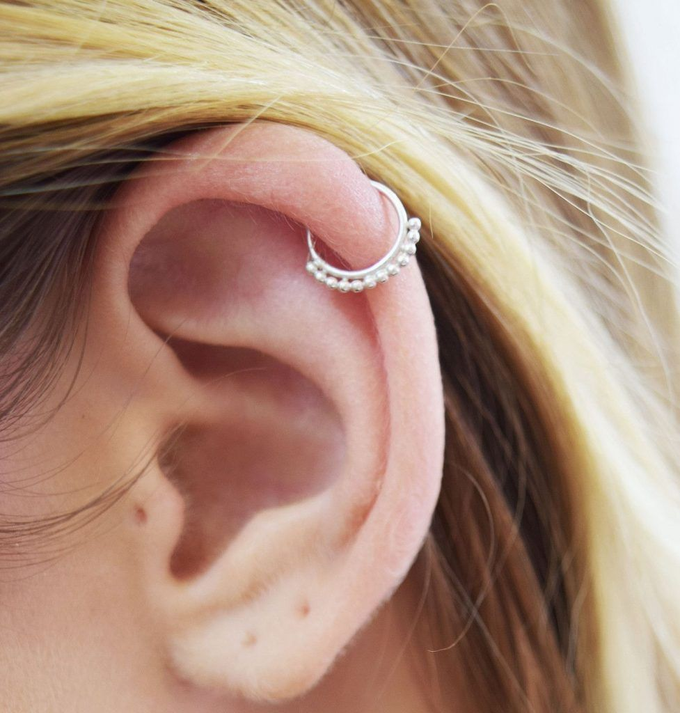 Nose piercing over 50  Adventurous Ear Piercings To Try This Summer Different Types Of Ear