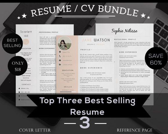 resume cv top 3 selling creativework247 resume skills
