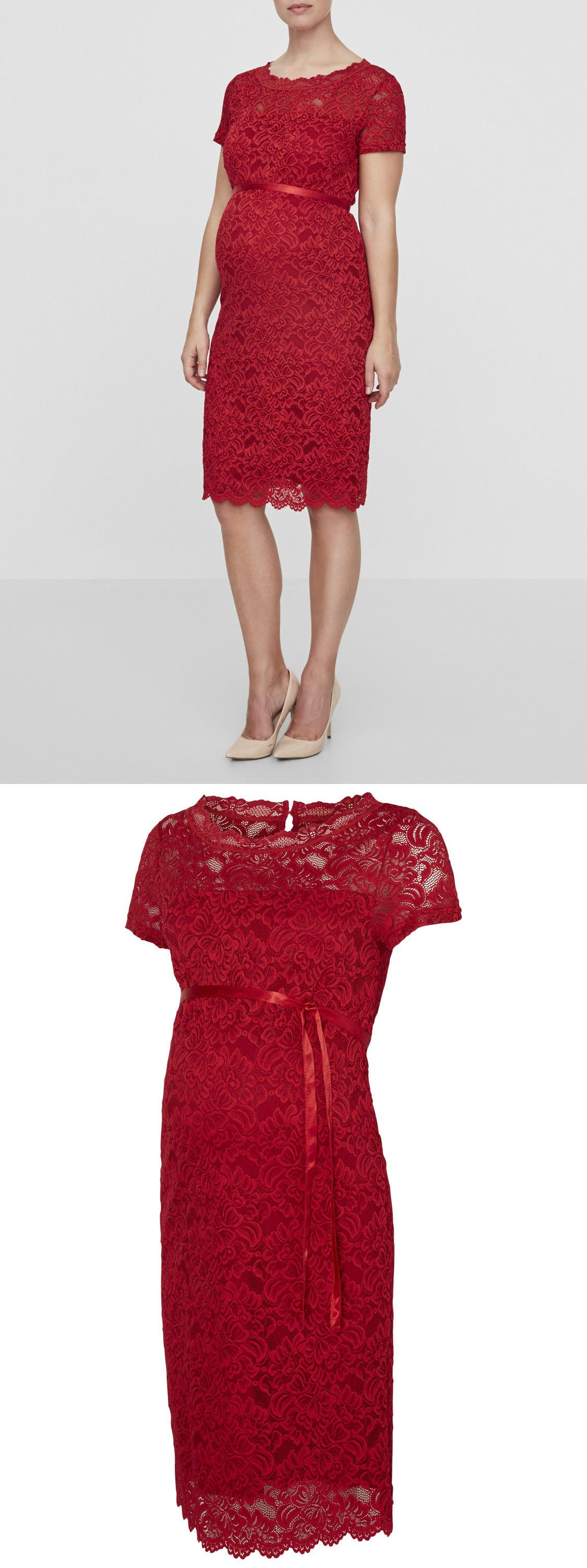 Dresses 11534 mamalicious maternity dress lace party special dresses 11534 mamalicious maternity dress lace party special occasion red christmas 38 rrp ombrellifo Images