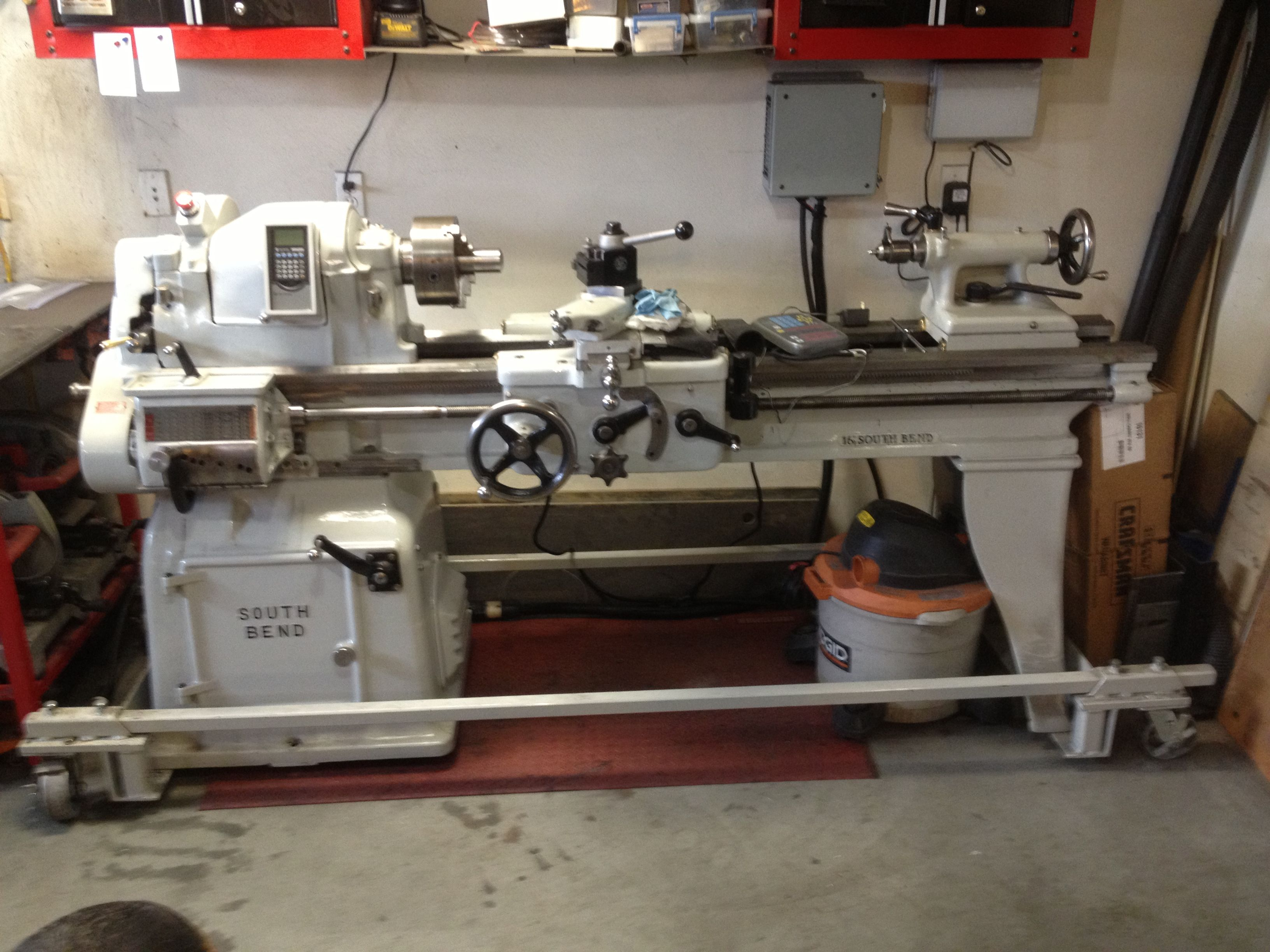 South Bend Lathe Restoration This Is A 1947 Vintage Meets