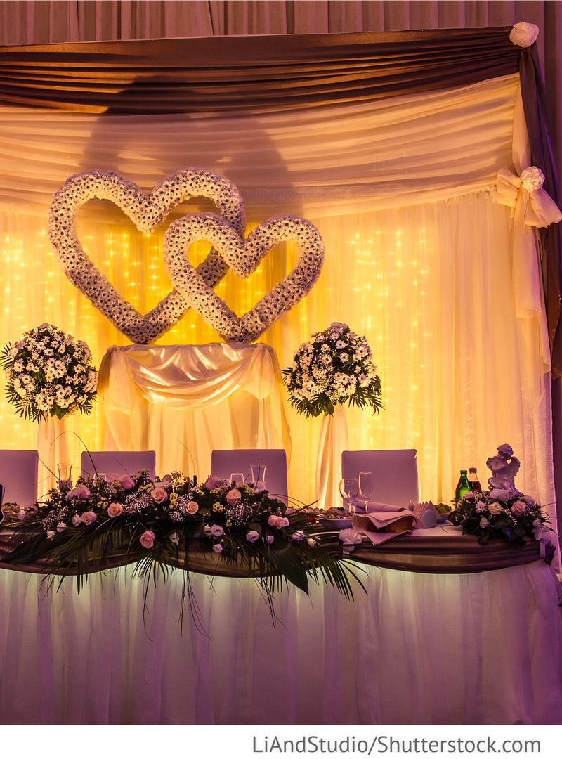 Brautpaartisch Dekoration Fur Russische Hochzeiten