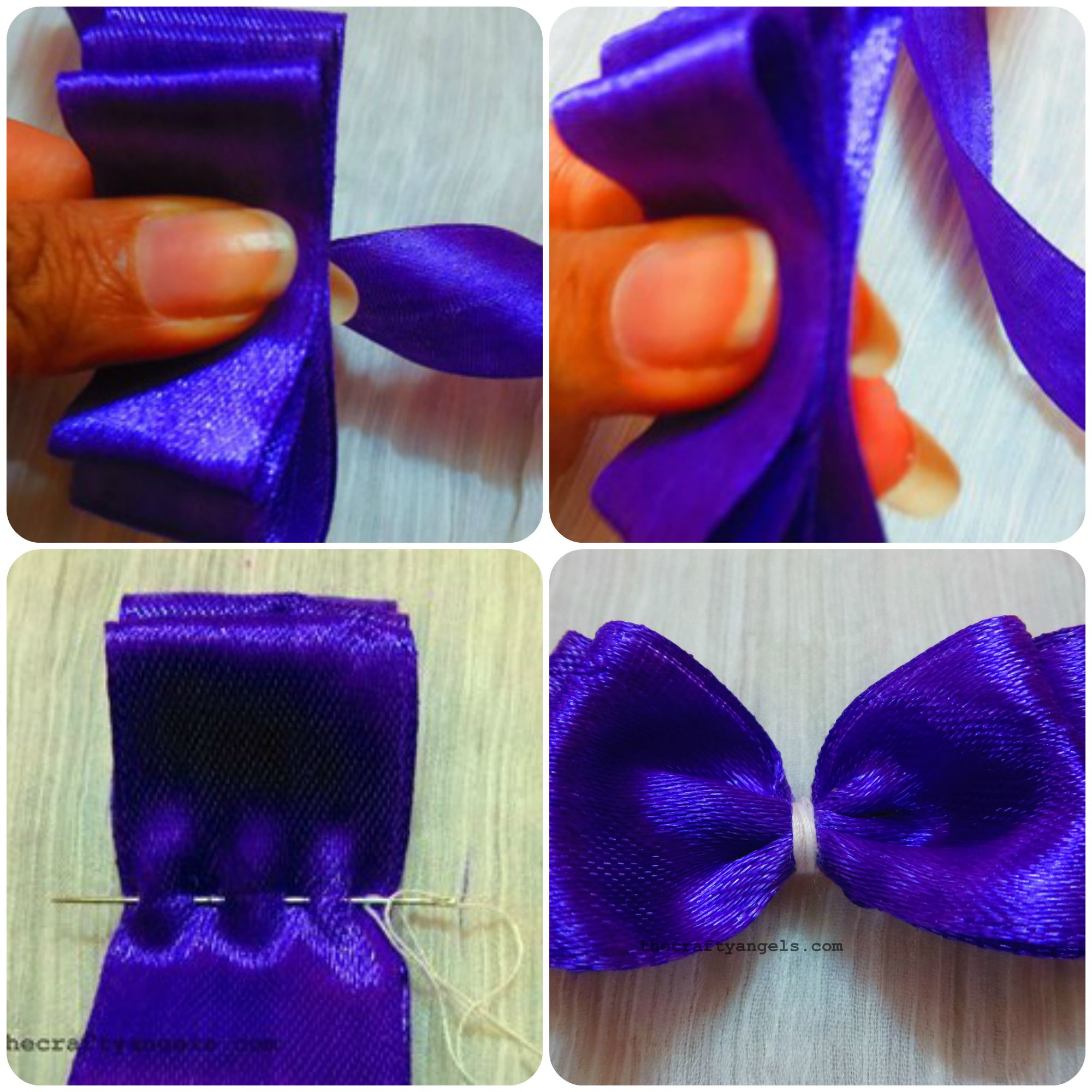 easy-layered-ribbon-bow-tutorial-2-.jpg (2000  Make A BowHow ...