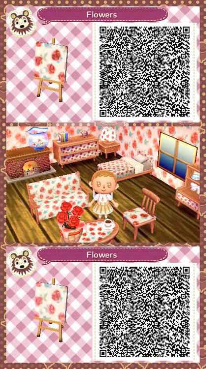 Animal Crossing New Leaf Qr Codes Acnl Furniture Animal