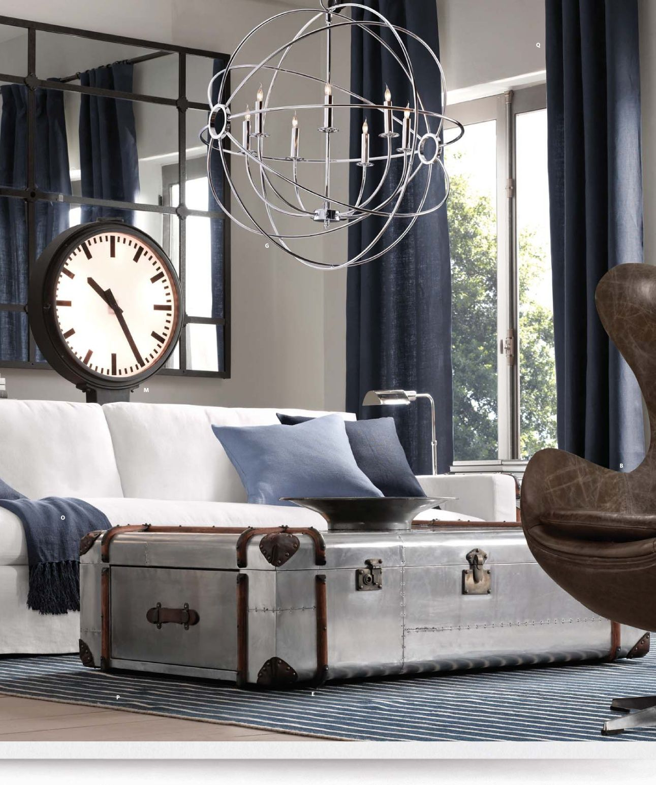 Mirror 2013 Small Spaces Catalog | Restoration Hardware | Why yes ...
