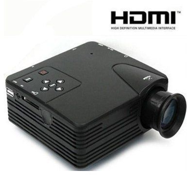 Home Cinema Theater Multimedia LED LCD Projector HD 1080P PC AV VGA USB HDMI
