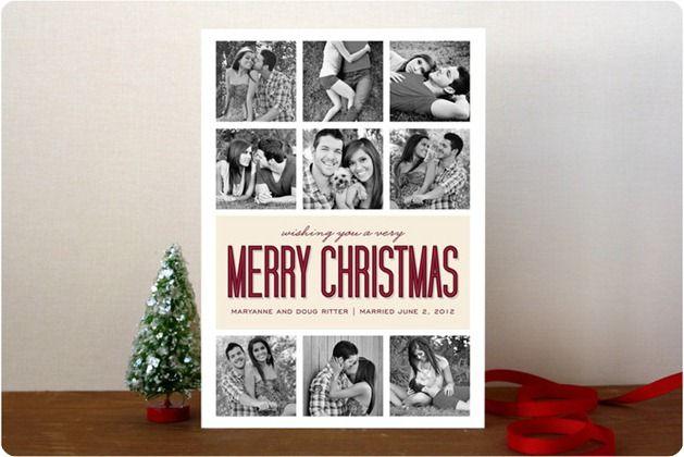 christmas card ideas  photo collage
