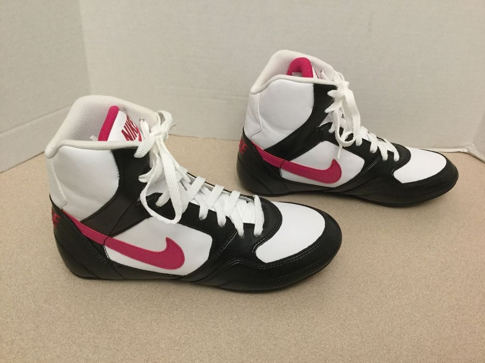Rare womens nike greco supreme leather wrestling shoes. size 8 ...