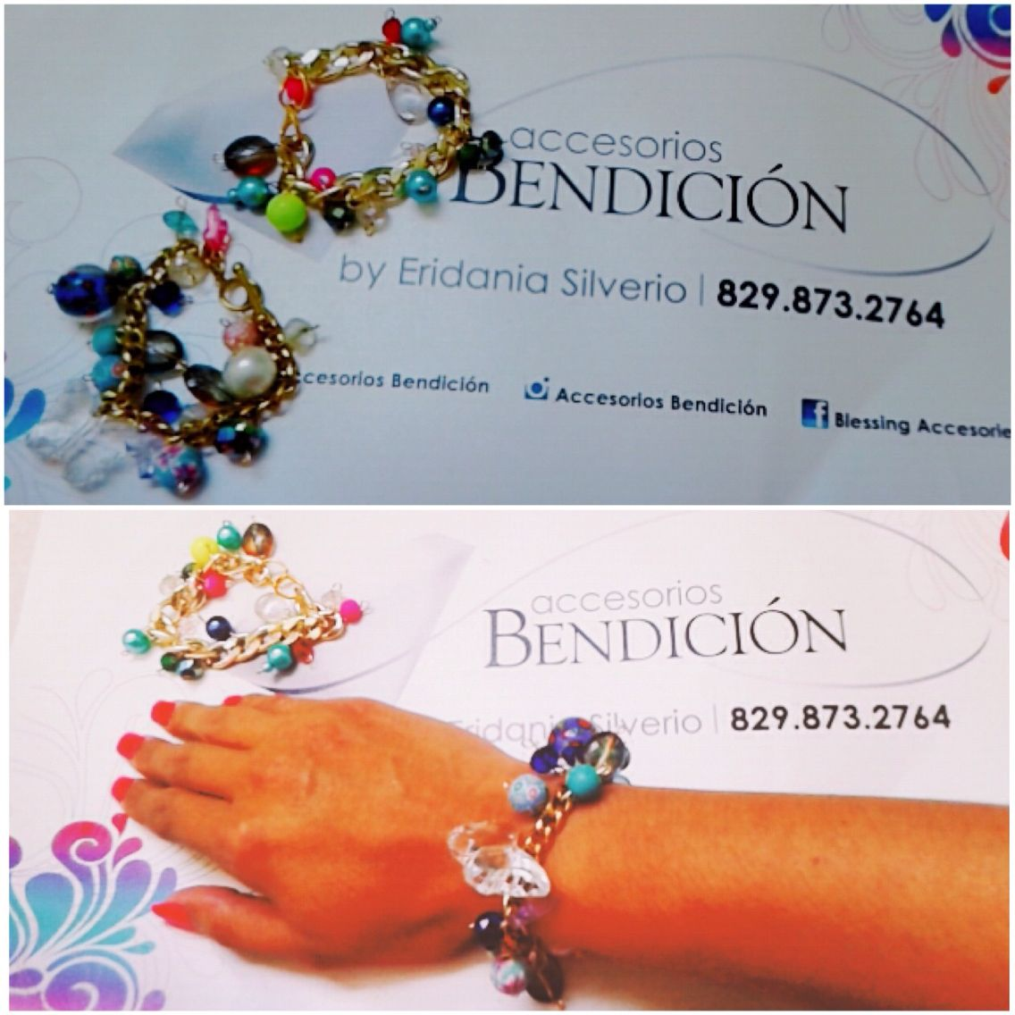 Pulseras Bendición, disponibles con #delivery y #envío disponible. Cel./WhatsApp📲829.873.2764 #accesoriosbendicion #BlessingStyle #hechoamano