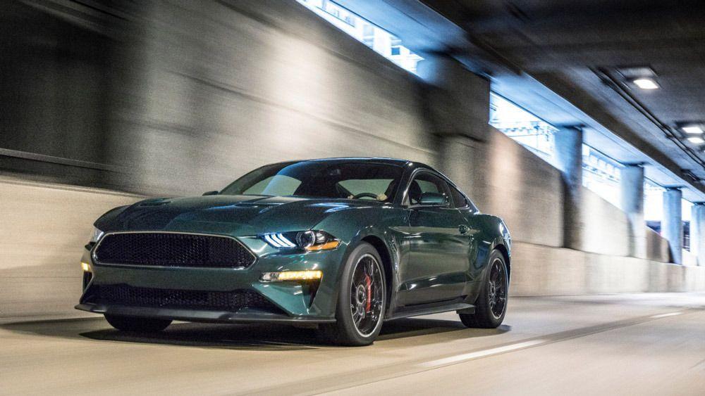 In Pictures 2019 Ford Mustang Bullitt Mustang Bullitt Ford