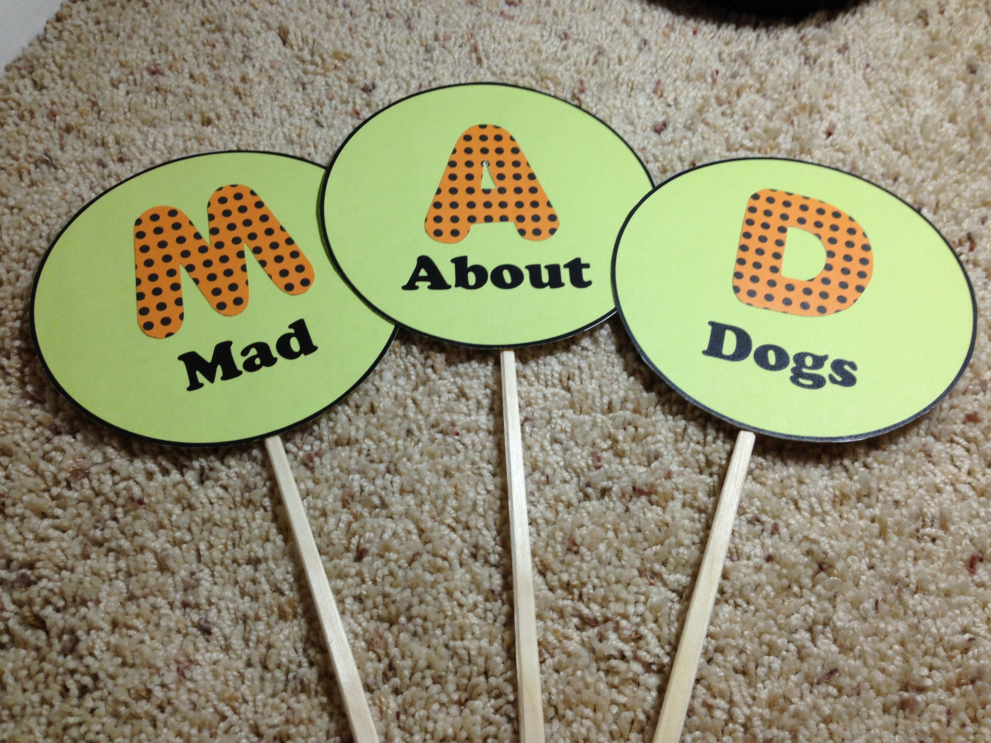 Diy Photo Booth Props For A Dog Party