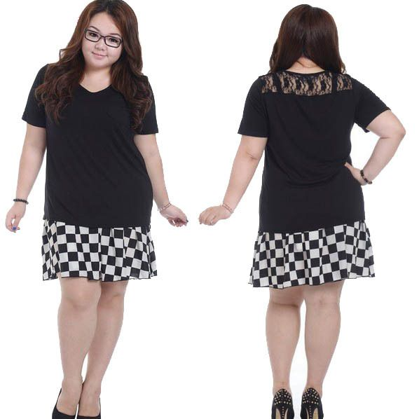 Plus Size Tees for Women | Short Sleeve Plus Size T Shirt Fat Women Big  Size Clothing Tops Korean .