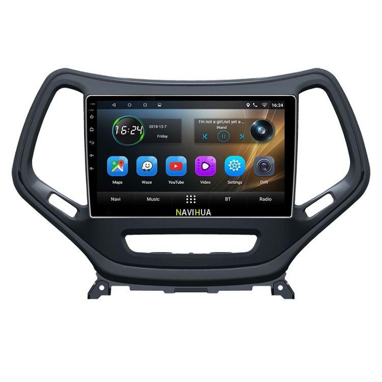 Android Autoradio Car Multimedia Stereo Gps Navigation Dvd Radio Audio Sat Nav Head Unit For Jeep Cherokee Email Stefan Navihua Com Wechat