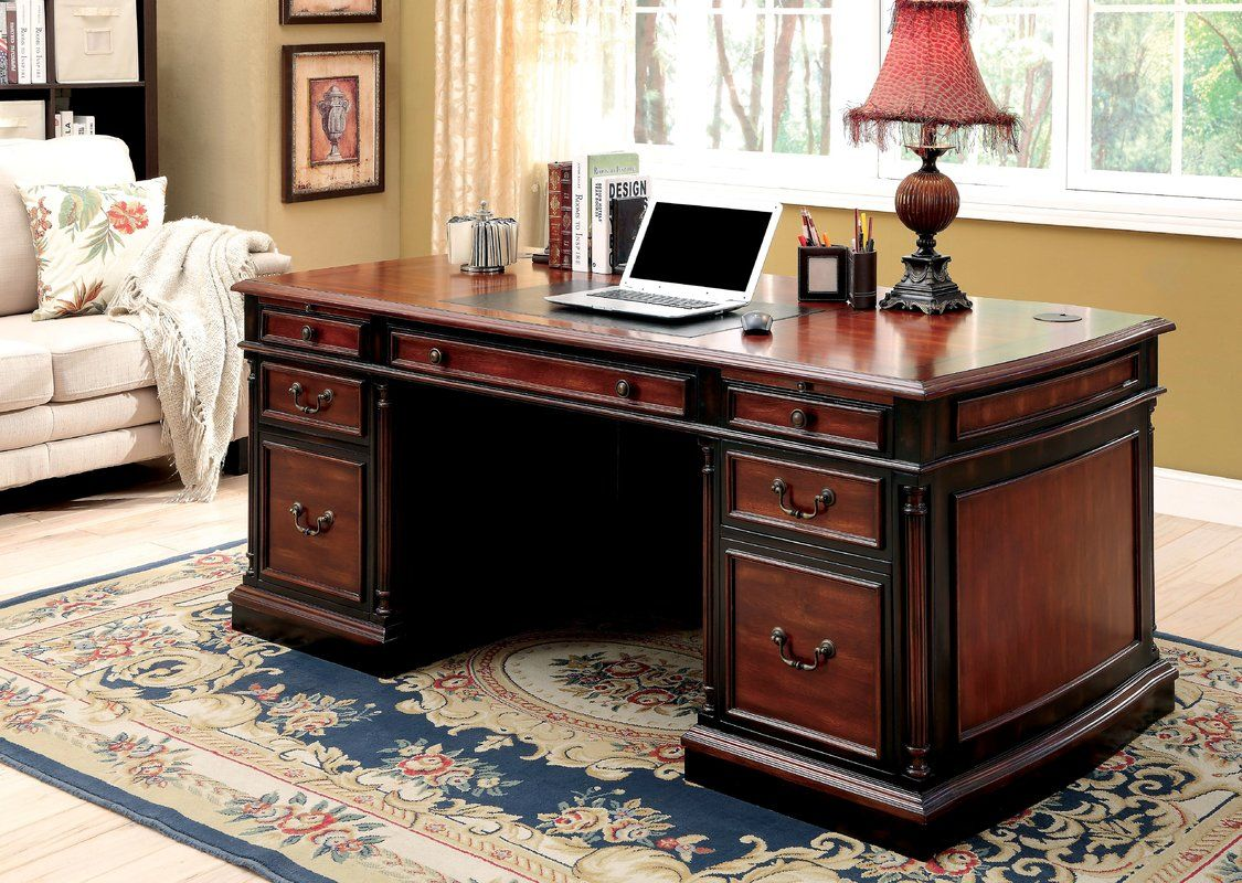 Cheshire executive desk black desk office furniture