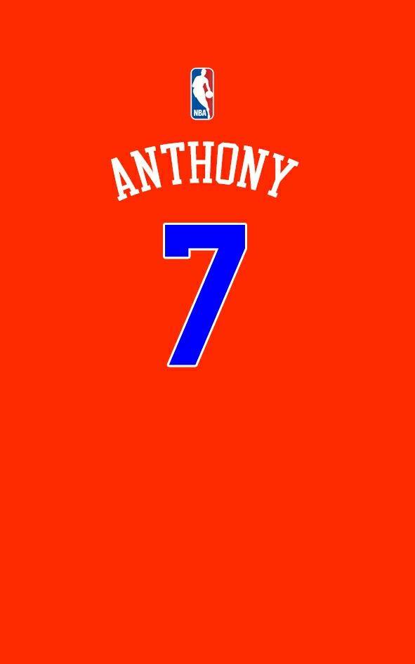 Carmelo Anthony Alternate Jersey Carmelo Anthony