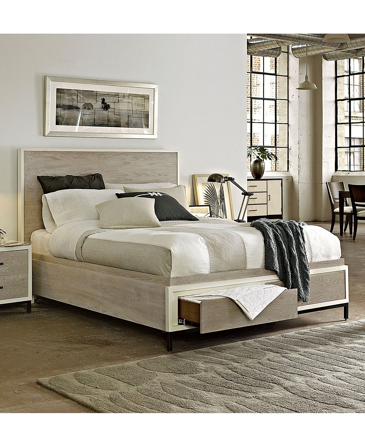 The Avery Storage Bedroom Furniture Collection is beautifully ...