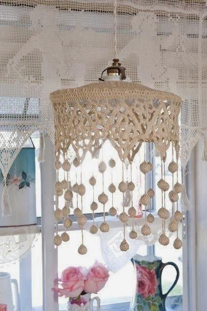 décorologue: Fabrication de lustres en dentelle et modèles de lustres en dentelle   – By hand