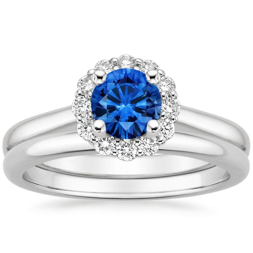 27+ Sapphire diamond wedding sets ideas