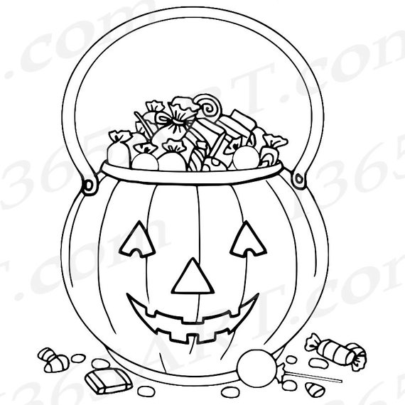 Buy 3 Get 1 Free Halloween Clipart Trick Or Treat Clipart Etsy In 2021 Halloween Coloring Pages Halloween Coloring Halloween Coloring Sheets
