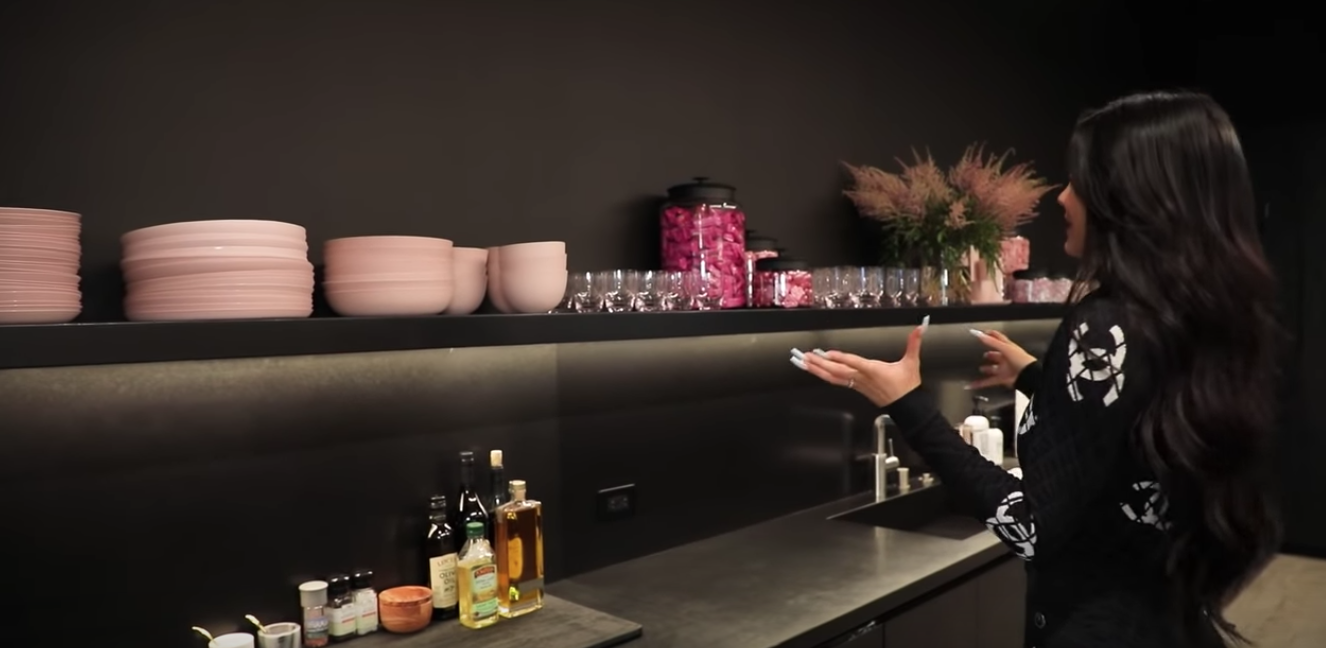 Kylie Jenner Has A Champagne Vending Machine Inside The