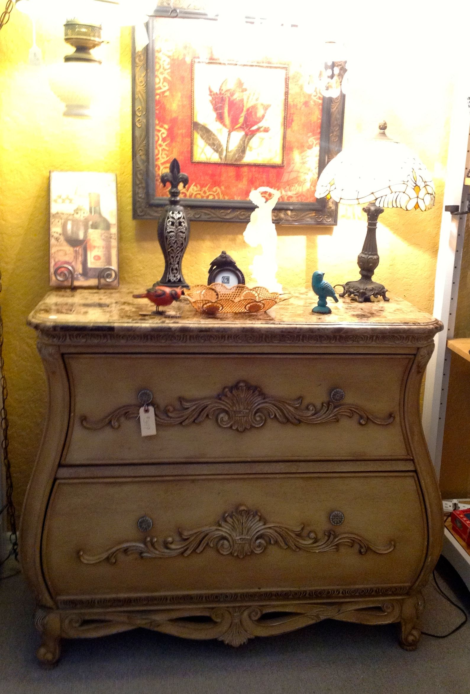 Cindy Crawford Collection Bombay Chest Two Drawers And Very Curvy