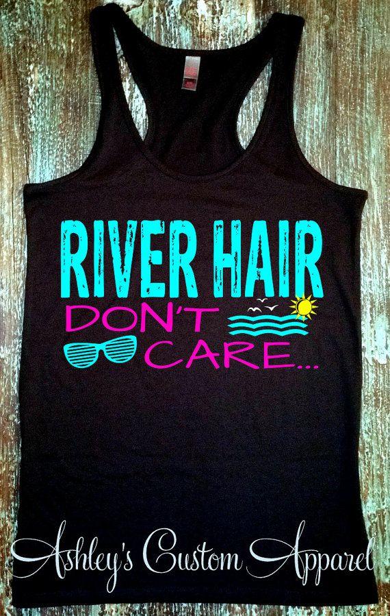 New Braunfels Camping >> River Hair . Summer Tank Top. River Tanks. River Shirts. Vacation Tanks. Floating the River. New ...