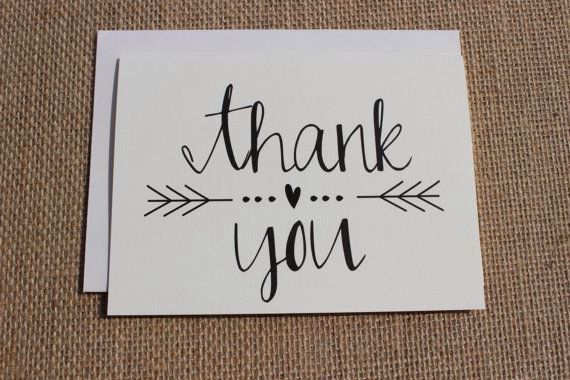 handlettered summer congratulations Thank you greeting card black cards handwritten card seasons modern calligraphy hello white ink