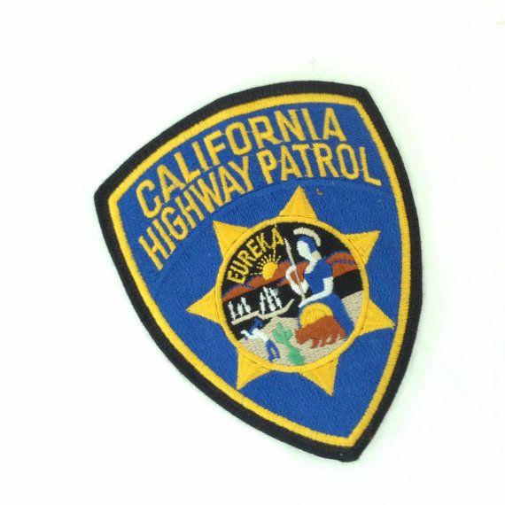 State Troopers Movie Highway Patrol Logo Iron On Patch