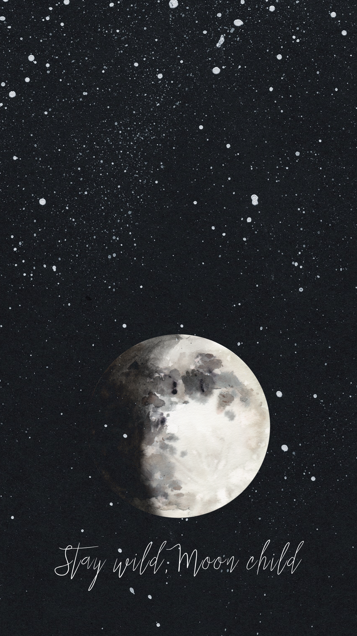 Pin By Maypa On W A L L P A P E R S In 2020 Witchy Wallpaper Iphone Wallpaper Moon Spiritual Wallpaper