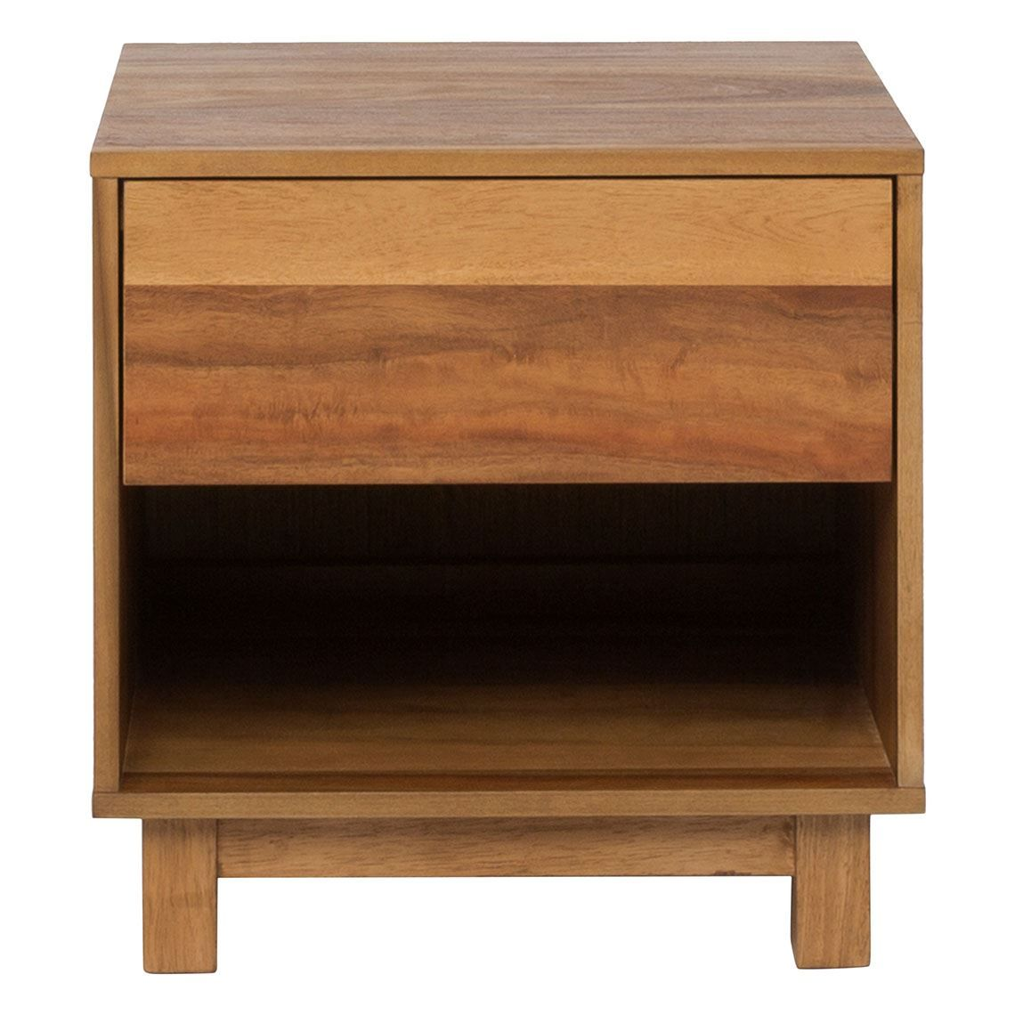 Reno 1 Drawer Bedside Table, Natural | Products in 2019 ...