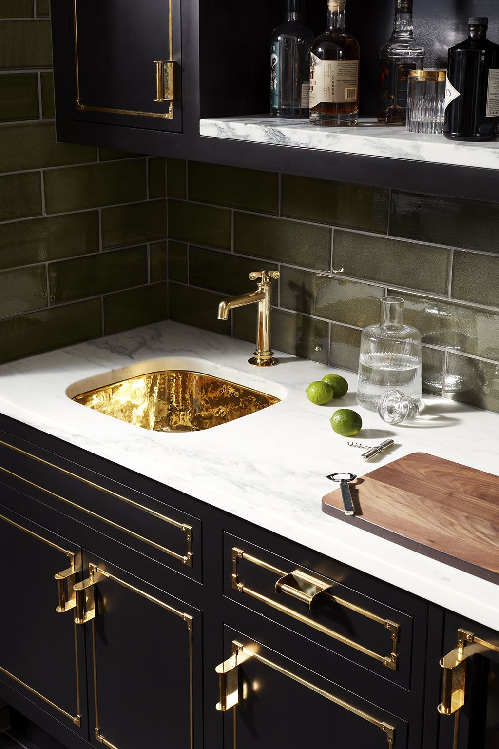 henry one hole high profile bar faucet
