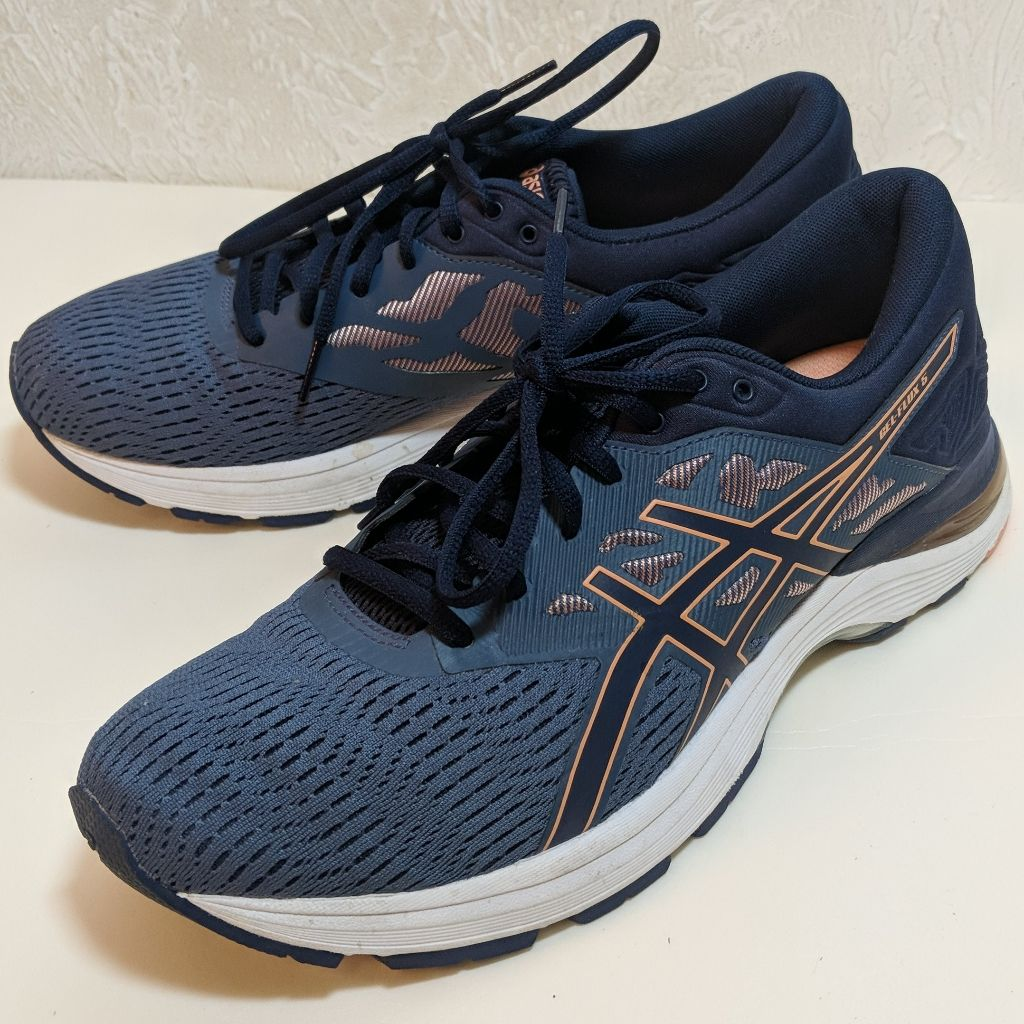 Asics Shoes Asics Womens Gel Flux 5 Running Athletic Shoes Color Orange Blue Size 10 5 In 2020 Athletic Shoes Shoes Asics Shoes