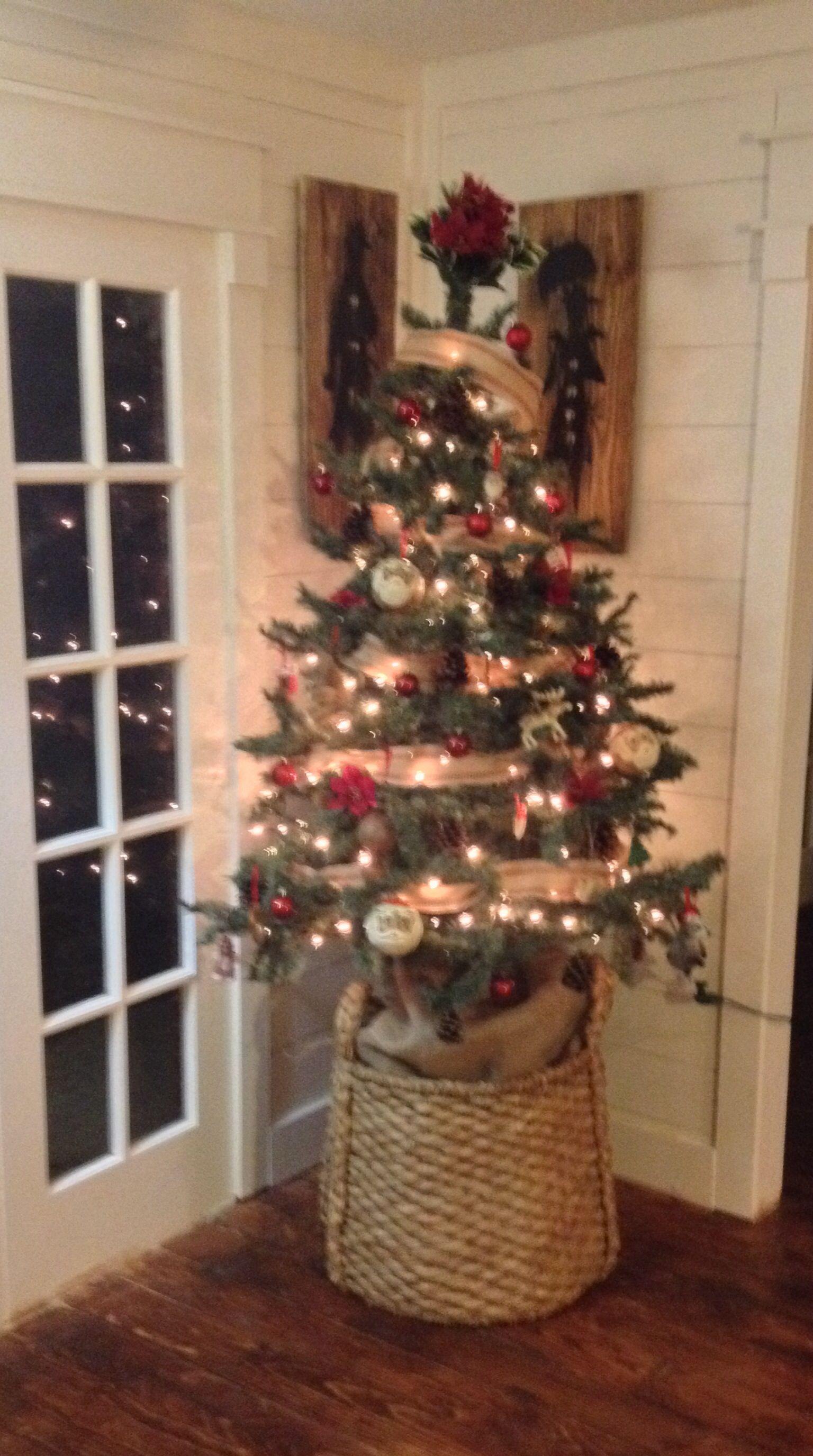 Christmas Tree Riser Christmas Tree Holiday Decor Home Crafts