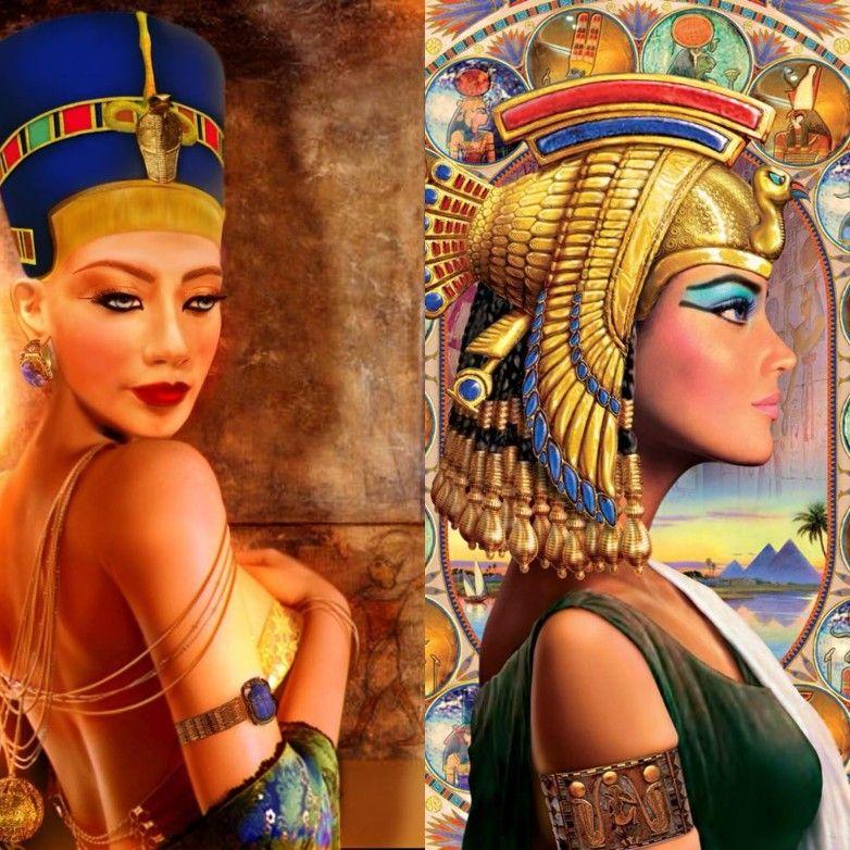 Resultado de imagen de Cleopatra y Nefertiti son la misma?